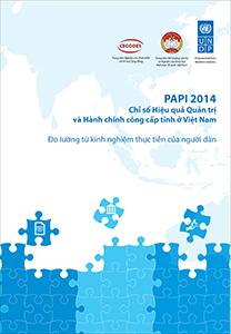 Báo cáo và dữ liệu PAPI 2014
