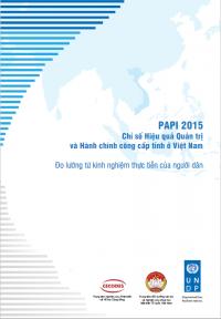 Báo cáo và dữ liệu PAPI 2015